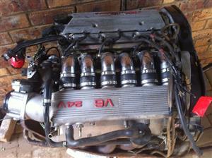 Alfa v6 24 valve engines