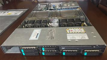 Dell/EMC server dual Intel Xeon 8 Core with 64 GB RAM DDR3 and 4 SSD