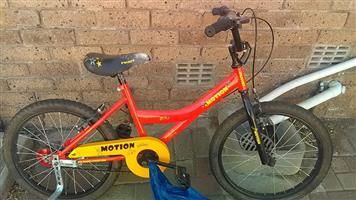 Motion kiddies bike for sale