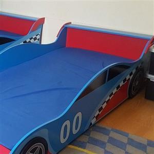 2 x kids car beds