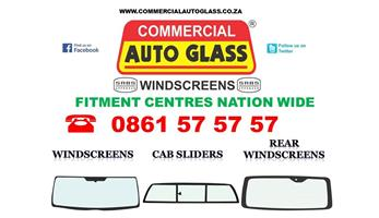 Windscreens for Cab sliders, Rear Windscreens, Vents and Quarter glasses, Taxi frames
