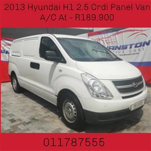 2013 Hyundai H1 H 1 2.5CRDi panel van