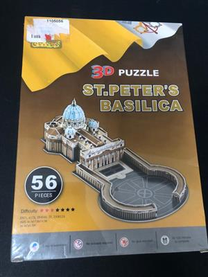 Iconic 3D church - St.Peters Basilica  - Perfect to keep the kids busy