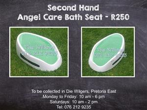 Second Hand Angel Care Bath Seat