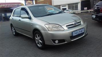 2005 Toyota RunX 160 RS