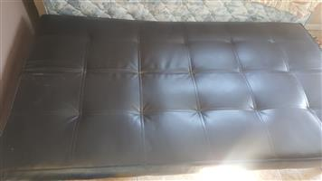 Leatherette Sleeper Couch