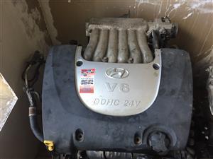 Hyundai trajet V6 engine for sale