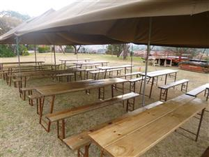 Party Tables and Benches