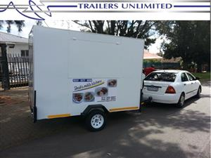 TRAILERS UNLIMITED 3200 X 1800 X 2000 MM MOBILE KITCHEN.