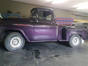 CHEVROLET 1956 pick up truck