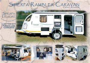 Sherpa Rambler, Wanderer, Sherpa Tiny and Tiny RoughRoader fibreglass caravans. for sale  Edenvale