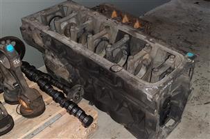MAN D2066 LF07 engine block for sale!