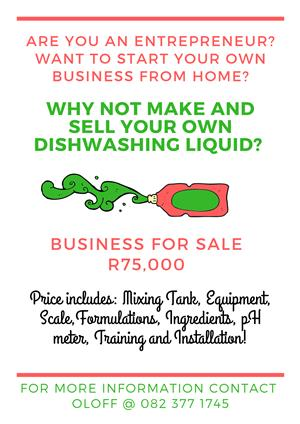 Make your own Dishwashing Liquid from Home