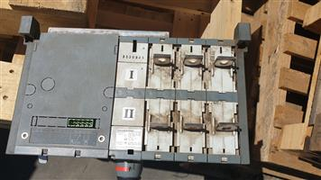 Generator Mains change over switch