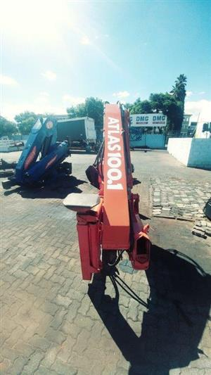 2 x Atlas 100.1 (10 ton.m) cranes for sale