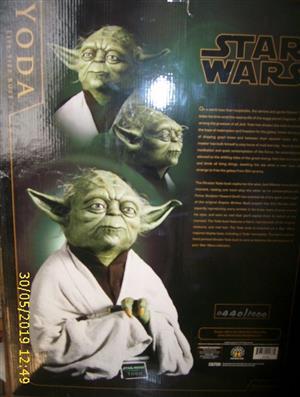 Star wars Yodi bust