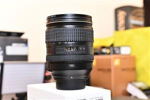 Nikon 24-120mm f4 VR Lens