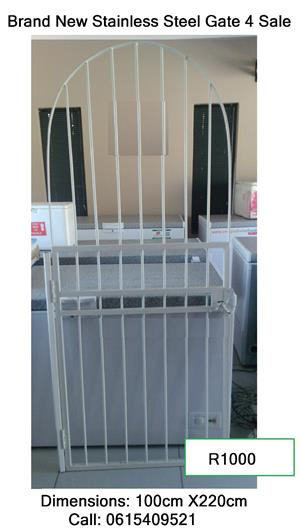 Brand new Stainless Steel Gate For Sale