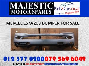 Mercedes benz w203 bumper for sale new spares