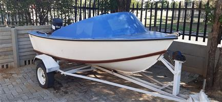 Fishing boat with 30HP enjin