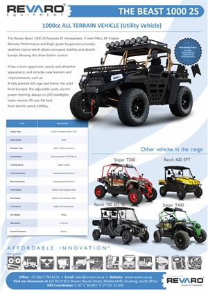 Quads side by side finest range