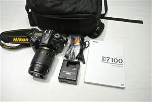 Nikon D7100 DSLR with Nikon 18-140 VR Lens Shutter count 4306