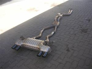 BMW M4 Competition pack exhaust back to front will also fit M3 F80
