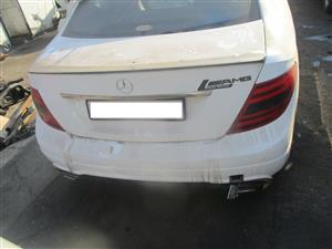 mercedes benz c350 amg 2012 be coupe stripping for spares