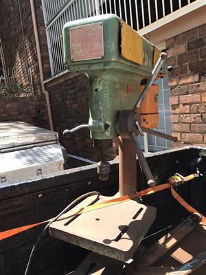 Mitco pedestal drill