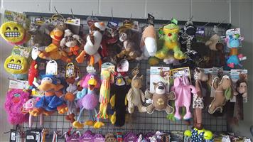 Wide variety of Plush toys available at PETS4LIFE BRACKENFELL