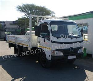 2011 Hino 300 814 used dropside truck for sale Durban KZN - AA2977