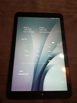 Samsung tab E 9.6 inch tablet
