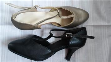 2 Pairs x Ballroom shoes for sale