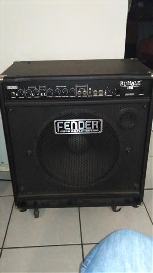 Fender Rumble 150W bass amp