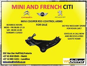 Mini cooper r53 control arms for sale