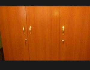 3-Dooer wardrobe for sale