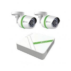 EZVIZ 4 Channel 2x Camera Security Kit