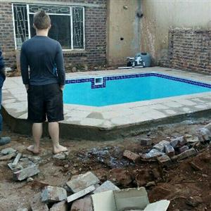 swimming pools start from the scratch