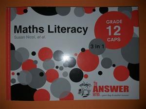 Maths Literacy - Grade 12 - CAPS - The Answer Series - Susan Nicol.