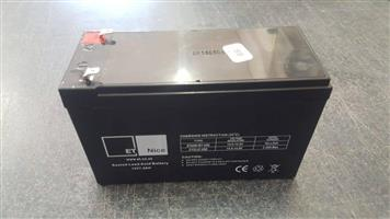 Battery 12v7.5H Brand New   In prestine condition
