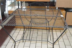 2 piece iron patio set S031289B #Rosettenvillepawnshop