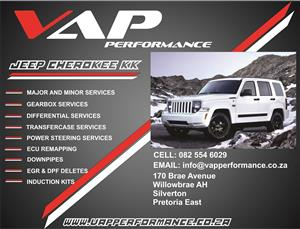 Jeep Cherokee Liberty KK Service (Minor & Major)