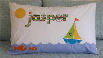 The Perfect Gift for Kids !!  Personalised pillowcases made on order.