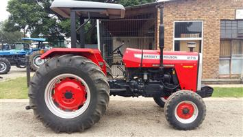 Red Massey Ferguson (MF) 275 50kW/67Hp 2x4 Pre-Owned Tractor