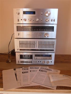 Pioneer/Technics vintage Hifi system, outstanding condition