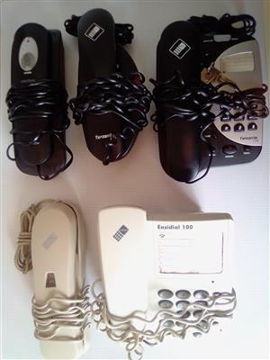 Landline Phones For Telkom.  Assorted. R150 each.