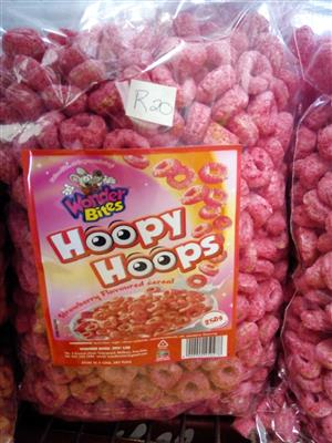 Hoopy Hoops Strawberry 250g