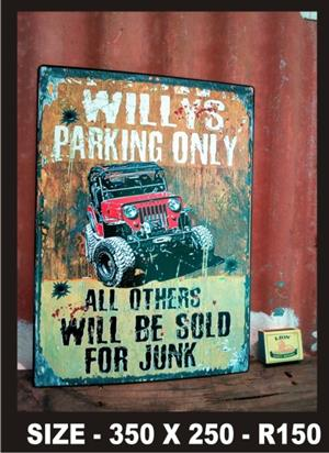 Old Metal Signs for sale  Hartbeespoort