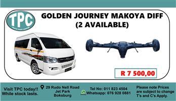Golden Journey Makoya Diff - For Sale at TPC.