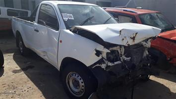 Toyota Hilux 2.5 D-4D S/C - 2015 - Stripping for spares